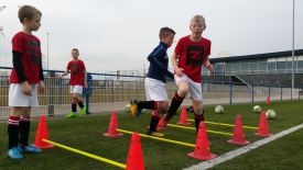 De Voetbalschool is weer begonnen
