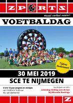 Hemelvaart voetbaldag bij SCE Nijmegen