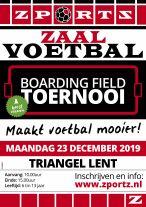 Boarding Field Toernooi tijdens de kerst en carnavals vakantie