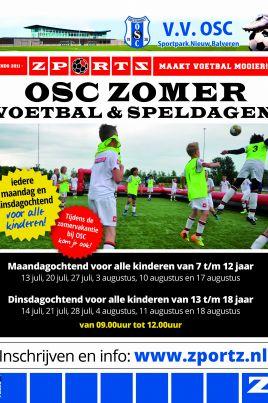 3 x OSC voetbal en spel op maandag of dinsdagochtend