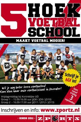 20 Lessen seizoen 2021-2022 voor jongens en meiden bij Koninklijke UD Deventer