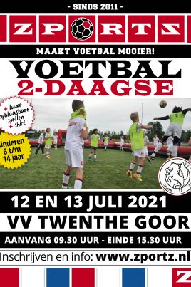 vv Twenthe Goor voetbal 2-daagse 12 en 13 juli 2021