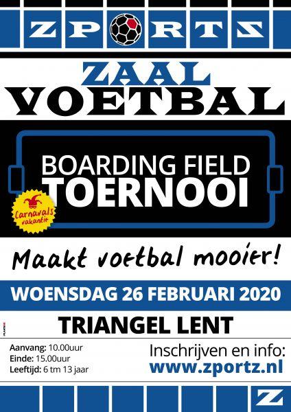 Indoor Boarding Field Toernooi 26 Februari 2020 Triangel Lent Maakt voetbal mooier!