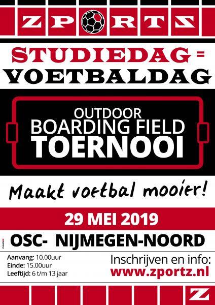 Outdoor Boarding Field Toernooi 29 mei bij OSC 2019 Maakt voetbal mooier!
