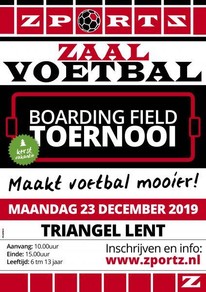 Combinatie Indoor Boarding Field Toernooi 23 December 2019 + 26 februari 2020 Triangel Lent Maakt vo